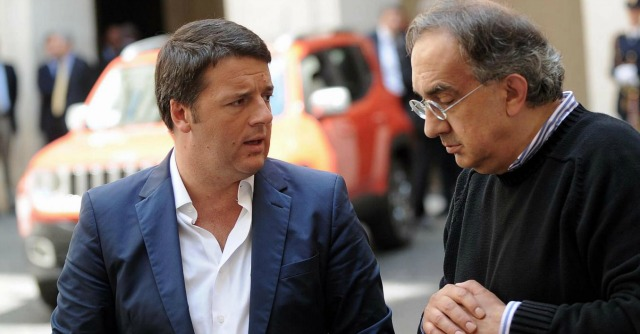 """De Bortoli critica il governo Renzi. E Marchionne lo scarica: """"Non lo leggo"""""""
