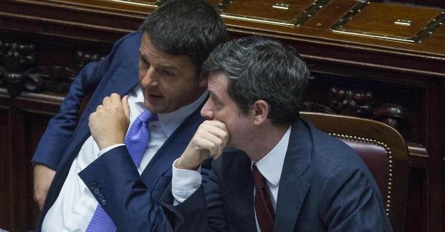 Matteo Renzi e Andrea Orlando