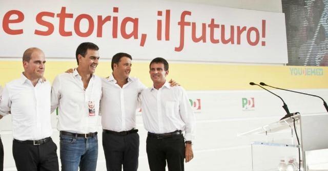 """Pd, Renzi alla festa dell'Unità: """"No a lezioni da tecnici della prima Repubblica"""""""