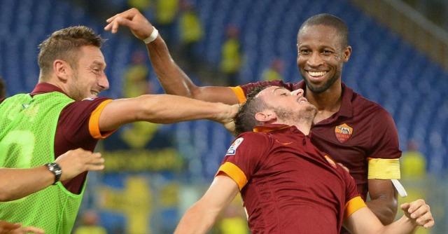 Roma – Verona 2 a 0. Primo tempo opaco, poi due magie di Florenzi e Destro