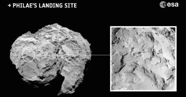 Sonda Rosetta, identificato il sito per l'atterraggio sulla cometa