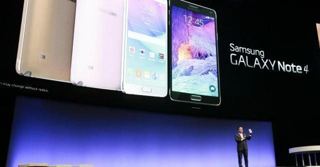 Galaxy Note 4, il nuovo smartphone della Samsung lancia la sfida all'iPhone 6