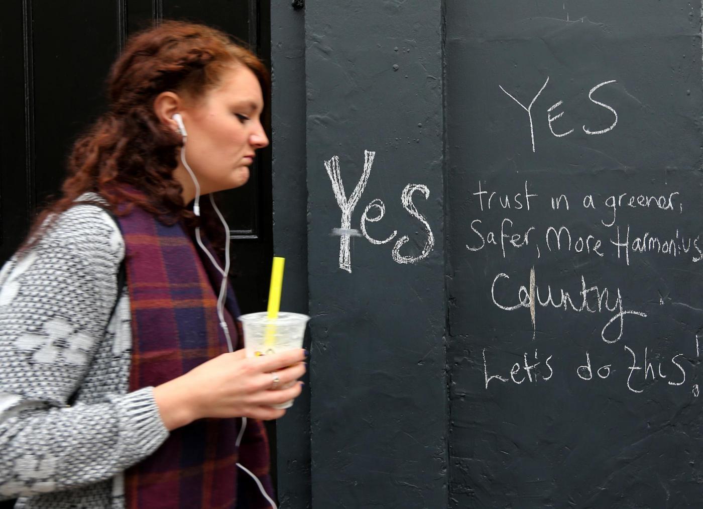 Referendum Scozia: la fine del Regno Unito è in mano alle donne