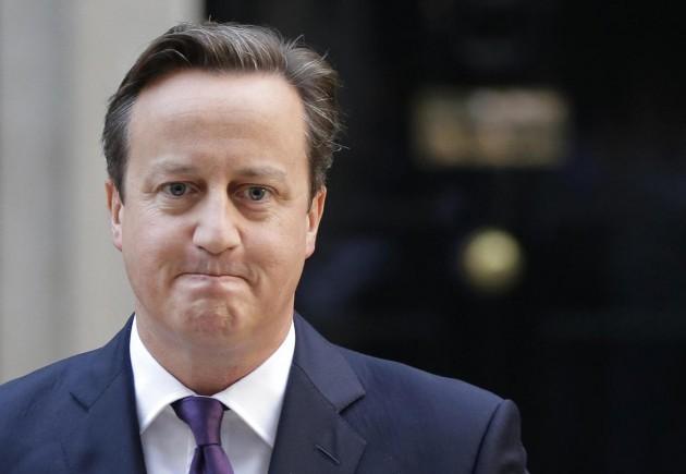 """""""Ora andiamo avanti"""", è stato il primo commento del premier conservatore, parlando da Downing Street"""