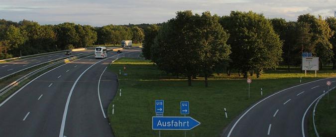 Autostrade tedesche, dal 2016 arriva il pedaggio. Ma lo pagano solo gli stranieri