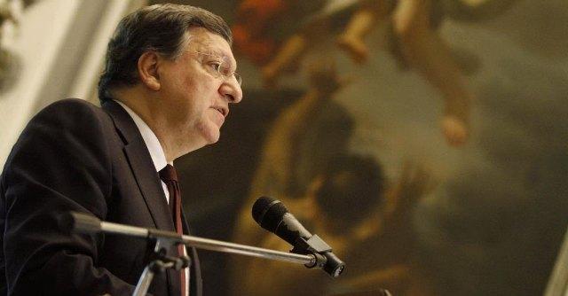 """Barroso: """"In Italia tasse su energia più alte del mondo. Jobs Act? Riforma coraggiosa"""""""