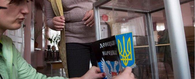 "Ucraina, Donetsk e Lugansk alle urne. Mosca: ""Riconosceremo voto"". Ira Ue-Usa"