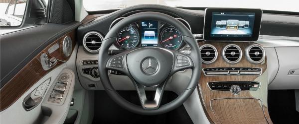 Mercedes C hybrid interno