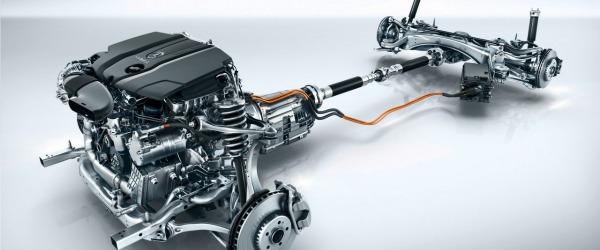 Mercedes C hybrid tecnica