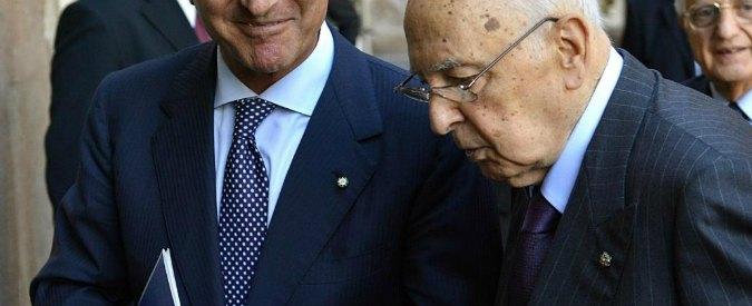 """Trattativa, Grillo: """"Reazione di Napolitano è ammissione di colpevolezza"""""""