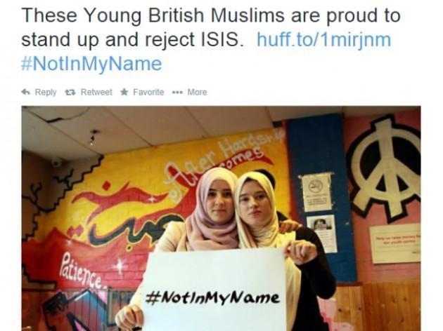 Isis, #Notinmyname: il coraggio di dire 'no' alla manipolazione