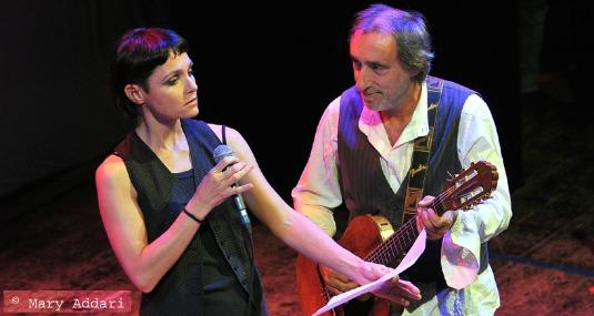 Petra MAgoni e Fausto Mesolella - Foto Mary Addari