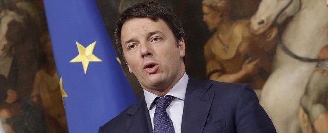 Bologna, Renzi inaugura a Ripoli il tunnel che causa frane e problemi alle strade