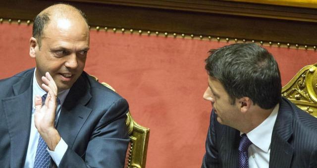 Renzi e Alfano formeranno il neo centrosinistra