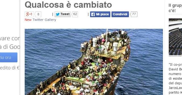 """Immigrazione, Grillo: """"I clandestini siano rispediti a casa. Visita medica per chi entra"""""""