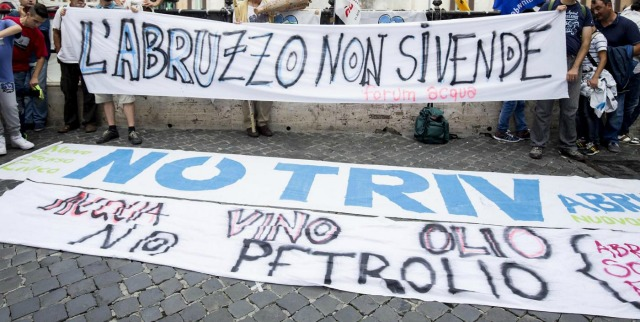 Sblocca Italia: paese baciato dalla sorte e ripudiato dalla politica