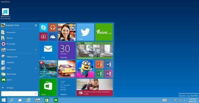 Windows 10, Microsoft lancia il nuovo sistema unico per Pc, smartphone e tablet