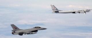 Allerta Nato, intercettati 26 aerei da guerra russi nello spazio aereo europeo