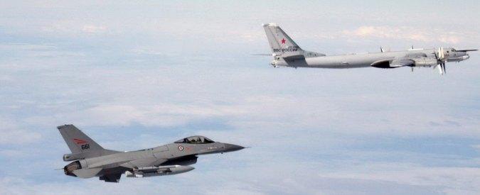 Aereo Da Combattimento Cinese : Allerta nato intercettati aerei da guerra russi nello