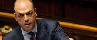 """Tagli polizia, M5S chiede audizione per Alfano: """"Smantella, favorisce criminalità"""""""