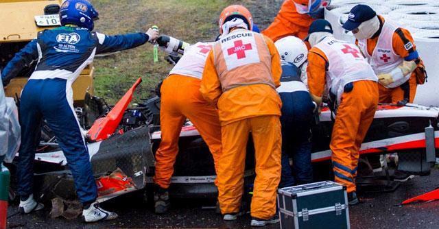 Incidente Bianchi, schianto in Formula1. Al Gp del Giappone vince Hamilton
