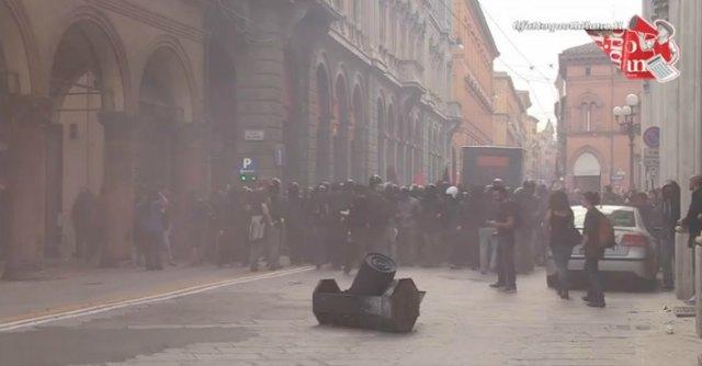 Bologna, scontri a presidio Forza Nuova: antagonista condannato a 8 mesi