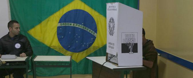 Ballottaggio Brasile, la presidente uscente Rousseff in testa contro Neves