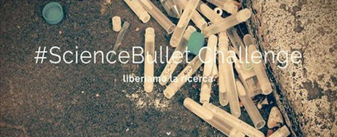 """Science bullet challenge, i ricercatori pubblici """"sparano"""" contro precarietà"""