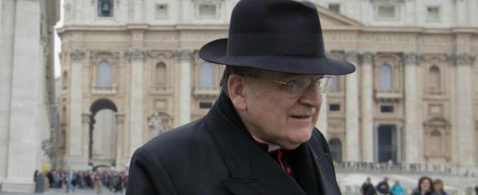 """Papa Francesco, l'attacco del cardinale Burke: """"La Chiesa è nave senza timone"""""""