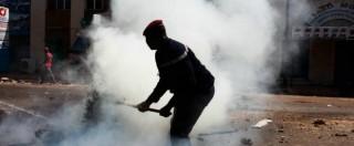 Burkina Faso, scontri e incendi contro l'esecutivo. Fotogallery