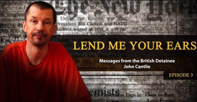 """Isis, video Cantlie: """"Jihadisti non vedono l'ora di uno scontro sul campo"""""""