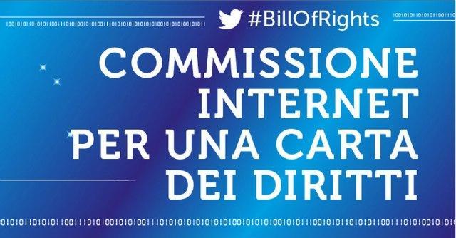 Bill of rights, per un uso consapevole di Internet
