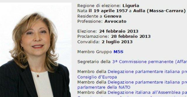 M5s, la senatrice De Pietro passa al gruppo misto. L'ex Zaccagnini aderisce a Sel