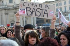 """Manifestazione """"Se non ora quando ?"""" per la dignita' e i diritti della donne"""