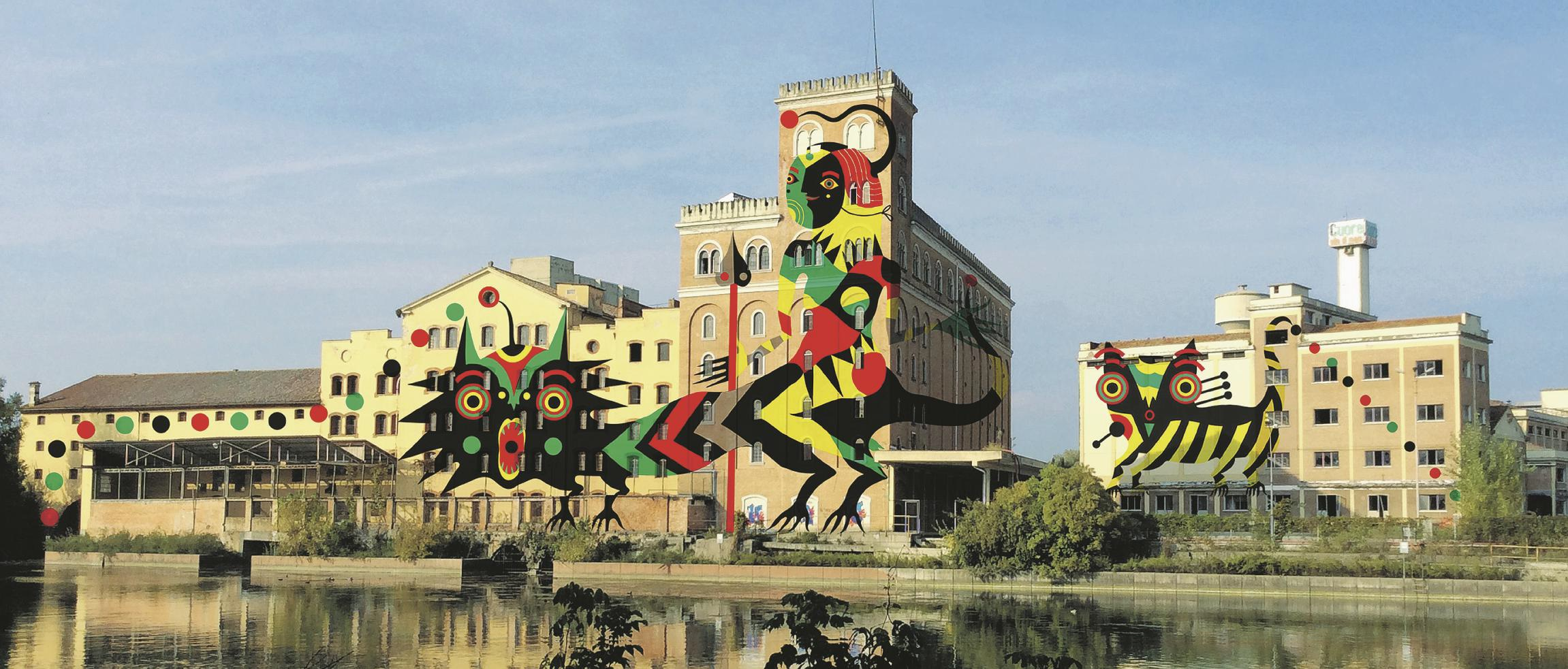 DOPO.  (Bozzetto di Giovanna Pistone)  Treviso, la fabbrica di Silea  Sul numero de Il Fatto Quotidiano di lunedì 17/11/2014