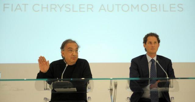 Sergio Marchionne e Jhon Elkann