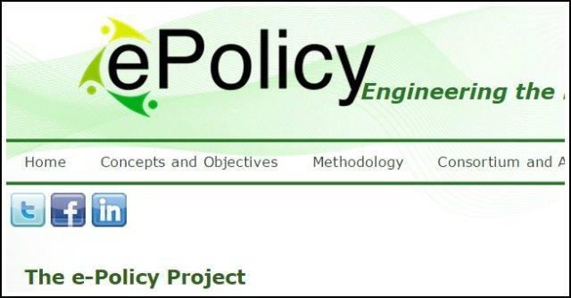 """""""ePolicy"""", il modello informatico che aiuta i politici a decidere"""