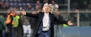 """Sampdoria, Massimo Ferrero: """"L'avevo detto a Moratti di cacciare il filippino"""""""
