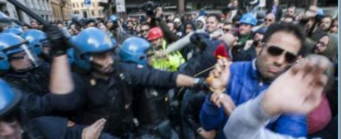 """Scontri Roma: """"Contro Fiom carica mai vista"""". L'ordine pubblico cambia verso"""
