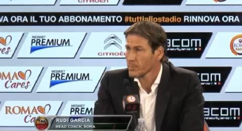 """Juve-Roma, Garcia: """"Lì ho capito che vinceremo lo scudetto. Totti va rispettato"""""""