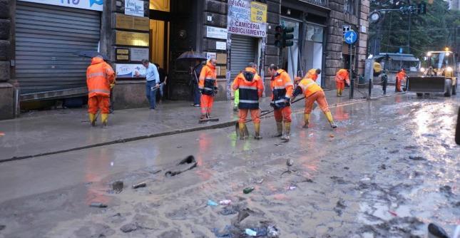 Alluvione Genova, in Italia l'82% dei comuni è a rischio idrogeologico