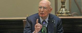 Trattativa, per Giorgio Napolitano una testimonianza blindata