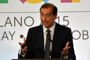 Presentazione accordo Alitalia-Ethiad-Expo