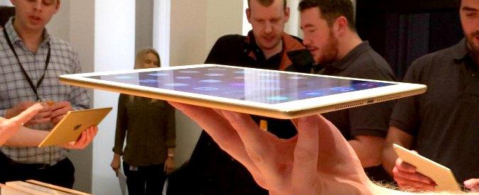Apple iPad Air 2: display più sensibile e prestazioni migliori. La prova del Fatto.it