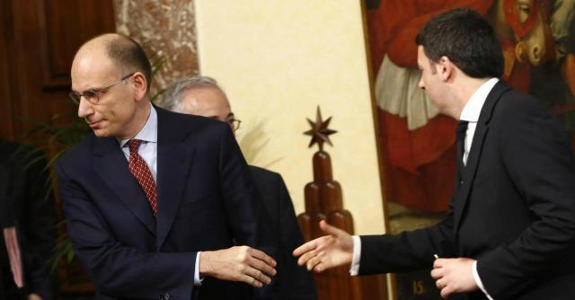 """Debiti pa, """"Letta ha pagato alle imprese 2,8 miliardi al mese, Renzi 1,1"""""""