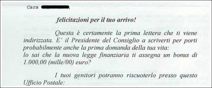 """Bonus bebè Berlusconi, 8mila mamme multate per errore: """"Abbiamo reso tutto"""""""