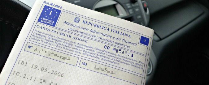 Auto, arriva il documento unico. Niente più certificato di proprietà e libretto di circolazione