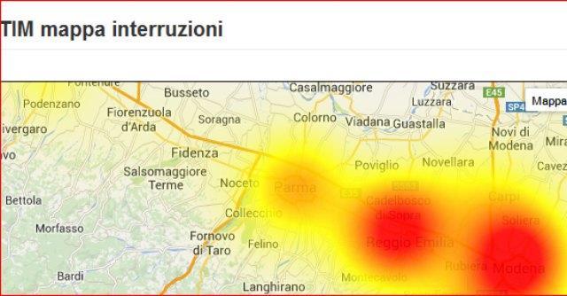 Parma, crisi maltempo: acqua e fango in città. Black out linee telefoniche in Emilia