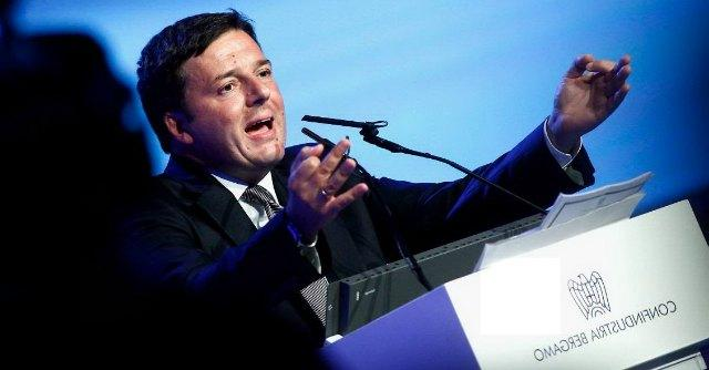 """Renzi: """"La differenza tra finanziaria 2014 e 2015 sono 18 miliardi di tasse in meno"""""""