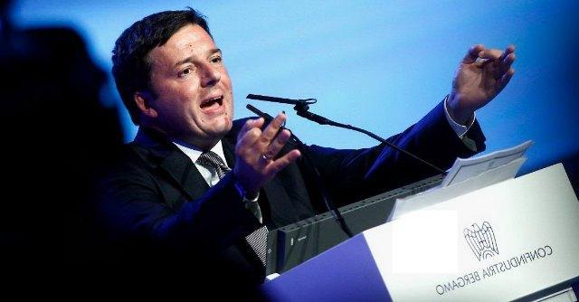 "Renzi: ""Tasse giù di 18 miliardi. Irap -6,5 mld. No contributi su neoassunti"""